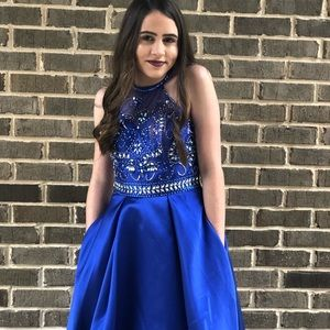 Dresses & Skirts - Dillard's Navy Blue Prom/Homecoming Dress